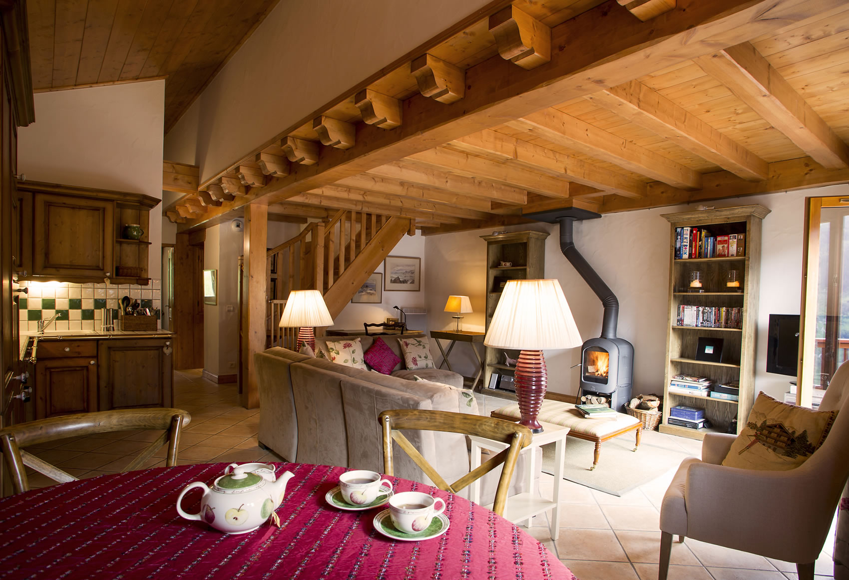 apartment panoramic the sainte foy chalet company