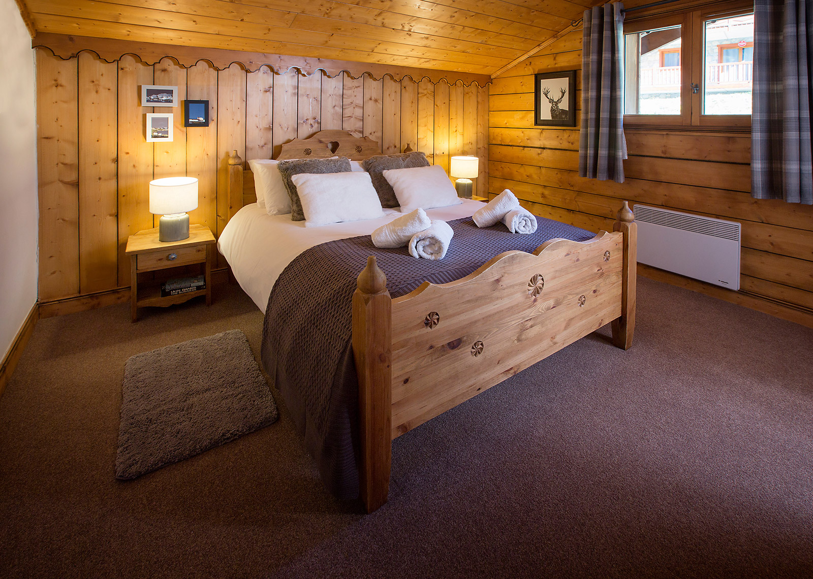chalet ambiance the sainte foy chalet company